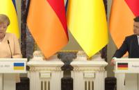 Меркель пропонує провести зустріч в Нормандському форматі на рівні президентів