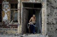 В Донецкой области за время боевых действий разрушено 300 домов