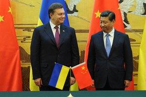 Янукович не получил кредитов для Украины в Китае
