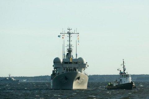 В Балтийском море начались противоминные учения НАТО Open Spirit