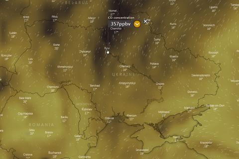 Кабмину не известно об аномальном загрязнении воздуха в Украине