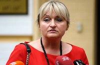 Супруга Луценко сорвала аплодисменты своим заявлением в Верховной Раде
