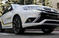 Mitsubishi сделала Нацполиции скидку на служебные автомобили