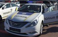 У Києві водій, який порушив правила паркування, наїхав патрульному на ногу