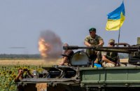 На Донбасі в суботу сталося п'ять обстрілів, без втрат