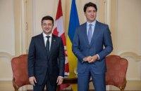 Зеленський обговорив з прем'єром Канади лібералізацію візового режиму для громадян України
