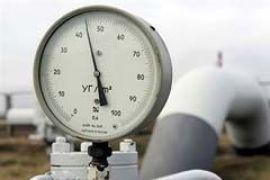 Транзит газа через Украину сократился почти на четверть