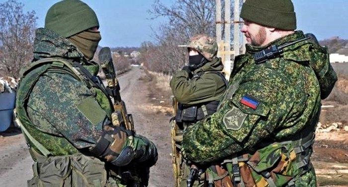 Так называемая 'народная милиция ДНР'