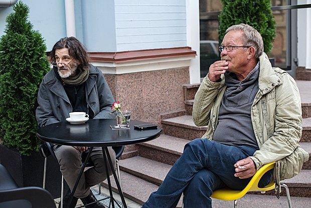 Александр Гляделов (слева) и Сергей Буковский