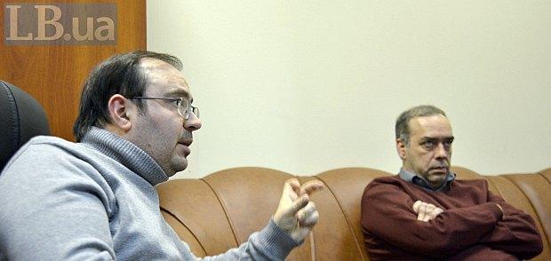 Олег Базар (слева) и Александр Мартыненко