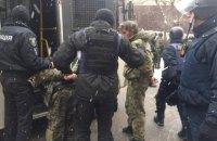 Почти всех участников драки у Соломенского суда отпустили без предъявления подозрений