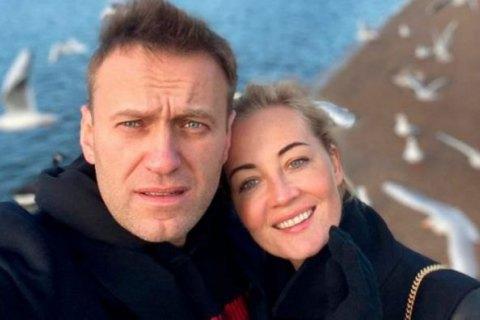 Жена Алексея Навального прилетела в Германию (обновлено)