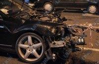 В Бентли, протаранившем 8 авто в Киеве, сидела дочь покойного Джарты?