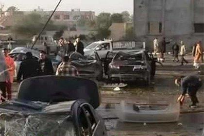 65 человек погибли при взрыве бомбы в тренировочном лагере полиции в Ливии