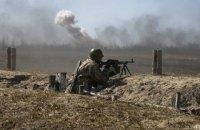 Бойовики п'ять разів обстріляли позиції ООС