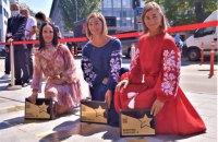 На Алеї зірок у Києві відкрили три нові спортивні зірки