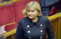 Ирина Луценко стала представителем президента в Раде