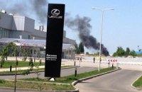 """В районе аэропорта """"Донецк"""" слышны взрывы"""