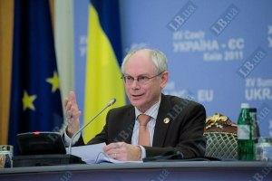 Ромпей и Коморовский снова говорили об Украине