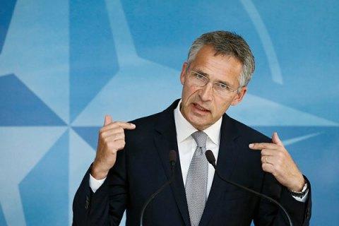 """У НАТО и России остаются """"четкие разногласия"""" по ситуации в Украине, - Столтенберг"""