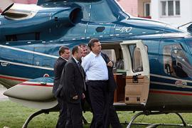 Мини-аэродром для Януковича обойдется в 60 млн грн