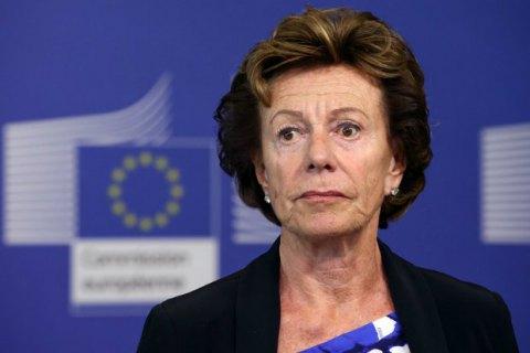 Бывший еврокомиссар числилась директором офшорной фирмы
