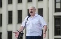 """Лукашенко заявил, что группа террористов """"тоннами ввозила оружие"""" в Беларусь через Украину"""