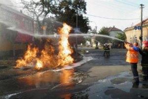 На Закарпатье взорвался газопровод: Ужгород остался без газа