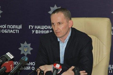 Суд признал законным задержание экс-главы Нацполиции в Винницкой области