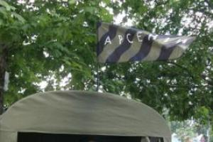 В Ужгороде запретили устанавливать палатки Яценюка