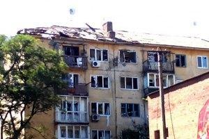 У Луганську в житлові будинки влучили снаряди: 2 осіб загинули та 8 поранені