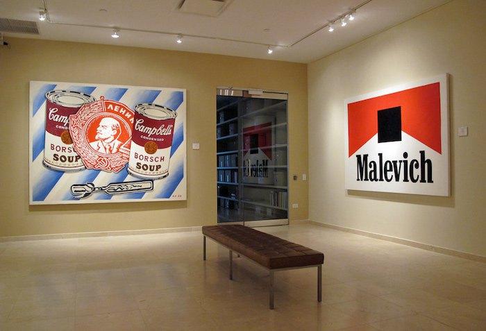 Работы А.Косолапова на выставке «Соцарт» в Leonard Hutton Galleries (Нью-Йорк), 2011
