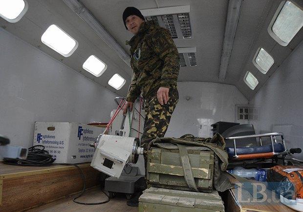Единственный в Украине рентгенограф, который можно вызвать на дом