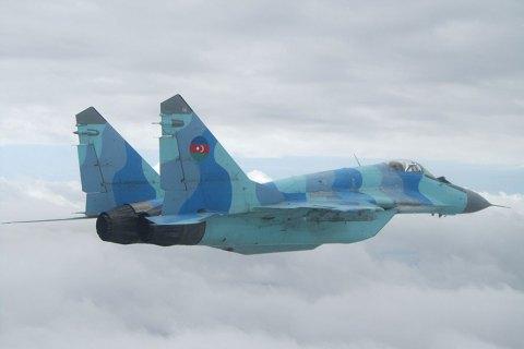 Азербайджанський МіГ-29 упав у Каспійське море