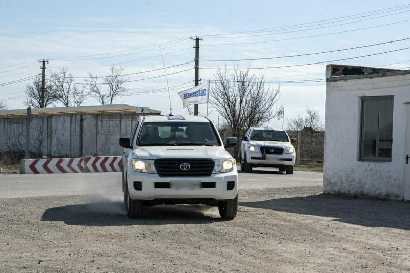 Спостерігачі ОБСЕ в зоні ООС
