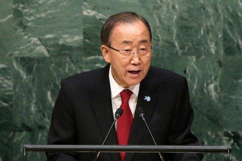 Генсек ООН: по всему миру 60 миллионов человек являются беженцами