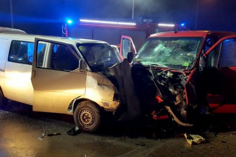 В ДТП возле Кракова пострадали восемь граждан Украины (обновлено)