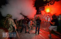 """На Святошино знову почалися зіткнення на будівництві """"Київміськбуду"""" (оновлено)"""
