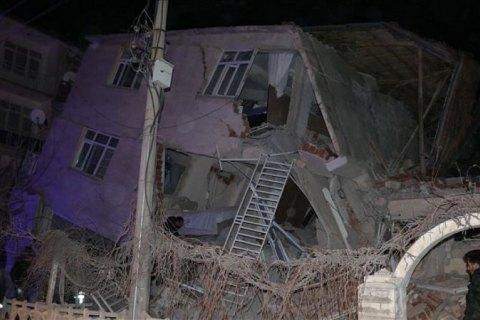 В Турции произошло мощное землетрясение, есть жертвы