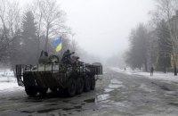 Міноборони спростувало інформацію про захоплення бойовиками частини Дебальцевого