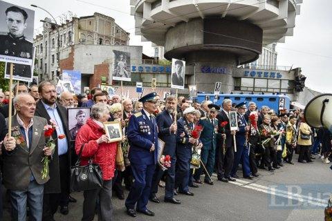 Во время акций в Киеве полиция составила три админпротокола, задержанных нет