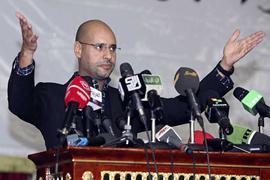Сын Каддафи: мятеж закончится через 48 часов