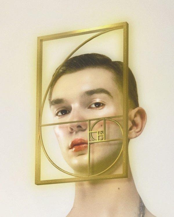 Маска «fibonacci» у фотороботі Філіпа Кустіча