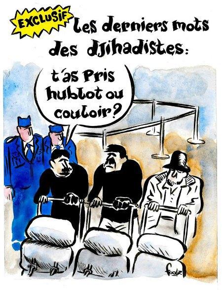 Карикатура не теракти в Брюсселі