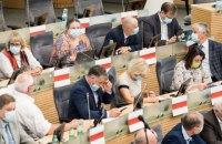 Парламент Литви відмовився визнати Лукашенка президентом Білорусі