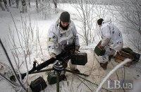 """На Донбасі зафіксували 10 порушень """"тиші"""" з боку бойовиків"""
