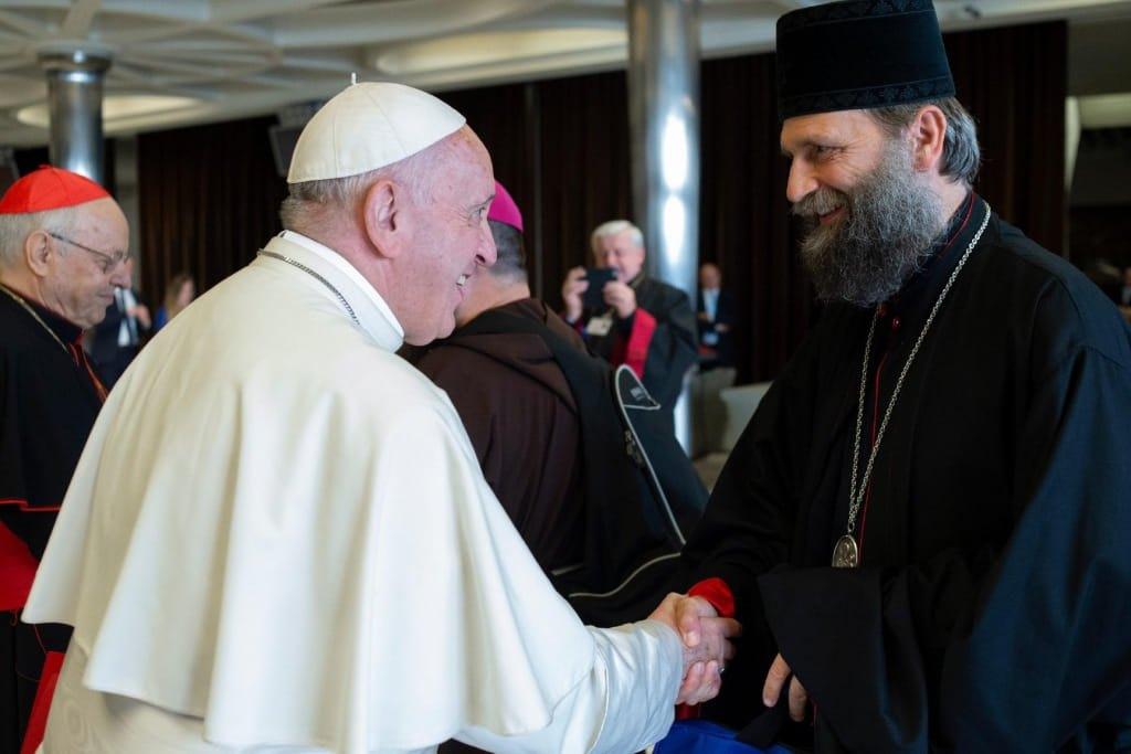 Папа Франциск прийняв главу Греко-Католицької Церкви в Угорщині Фюлеп Кочіш Гайдудорозький на особистій аудієнції у Ватикані