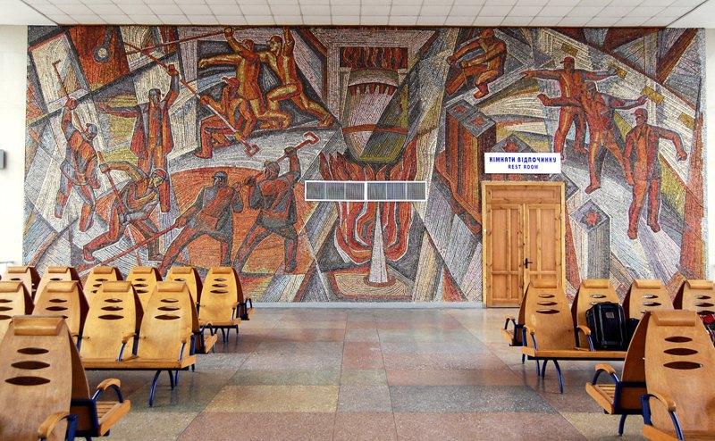 Маріупольські мозаїки від А до Я. Монументальний путівник (фото)