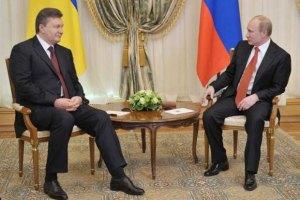 Янукович доволен сотрудничеством с Россией