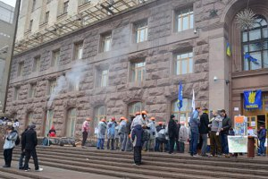 В здании Киевсовета возобновили водоснабжение